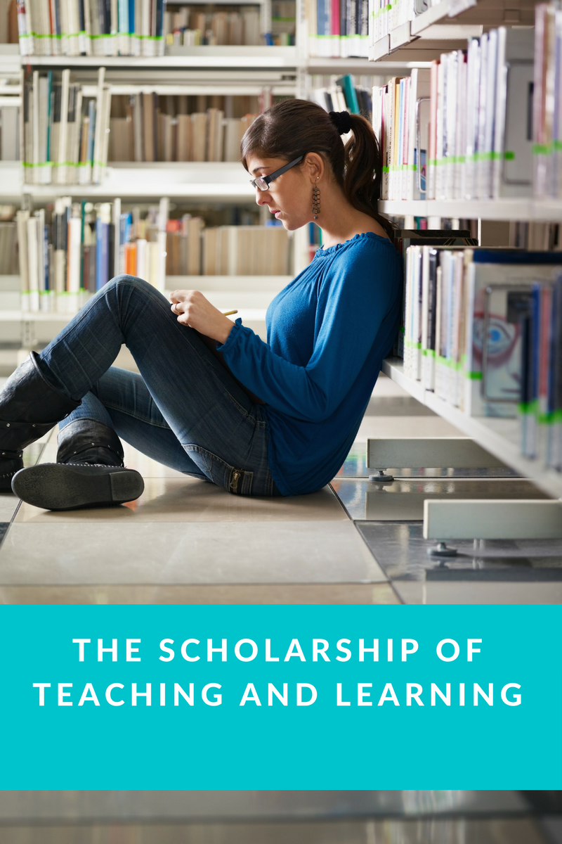 The scholarship of teaching and learning